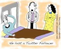 twitter follower lost cartoon